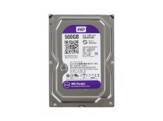 HDD WESTERN  500GB PURPLE